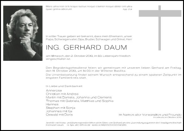 Gerhard Daum Ing.