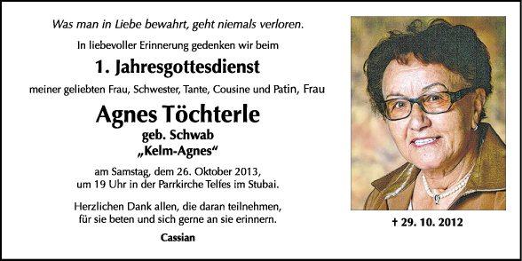 Agnes Töchterle