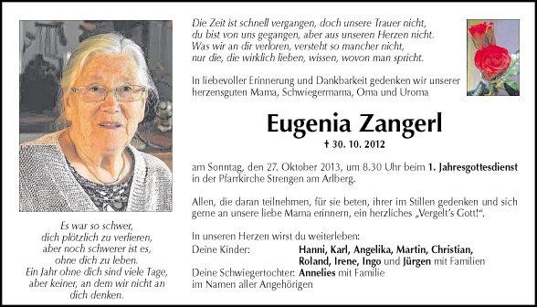 Eugenia Zangerl