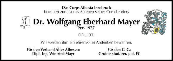 Eberhard Mayr Wolfgang