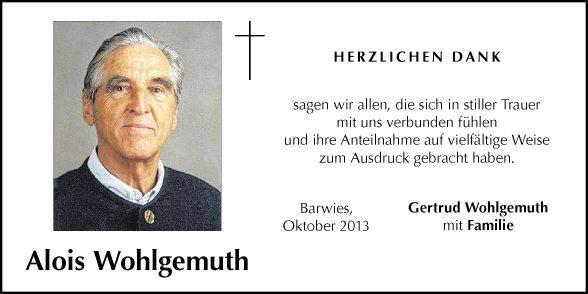 Alois Wohlgemuth