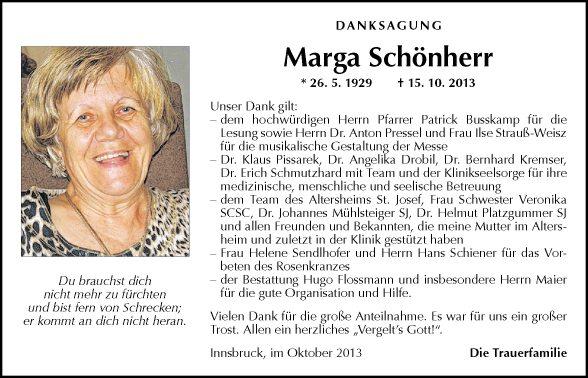 Marga Schönherr