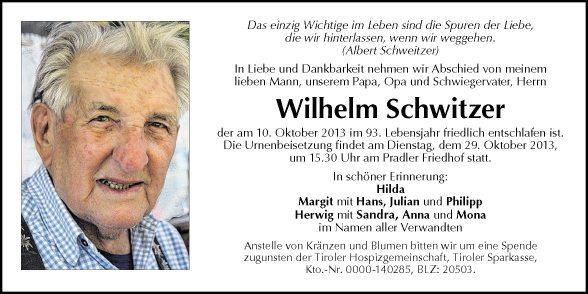 Wilhelm Schwitzer