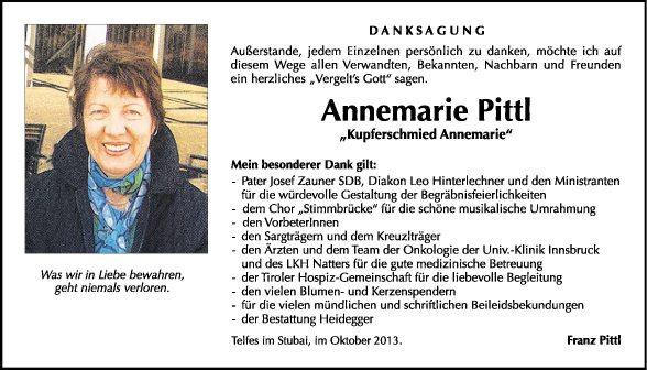 Annemarie Pittl