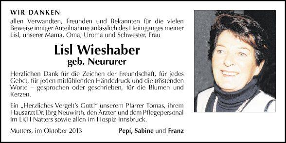Lisl Wieshaber