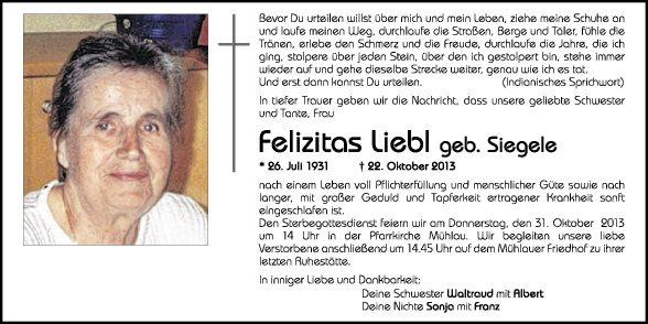 Felizitas Liebl