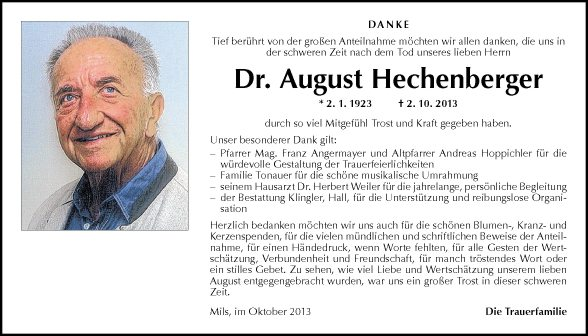 Augut Hechenberger
