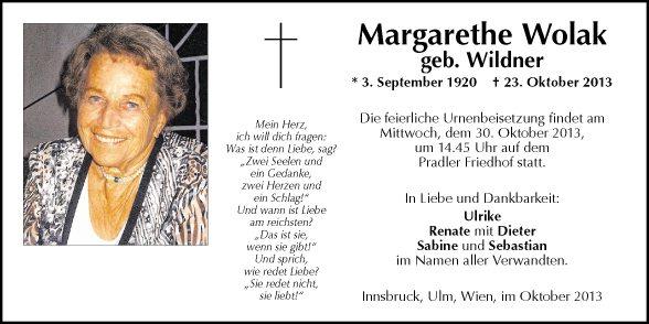 Margarethe Wolak