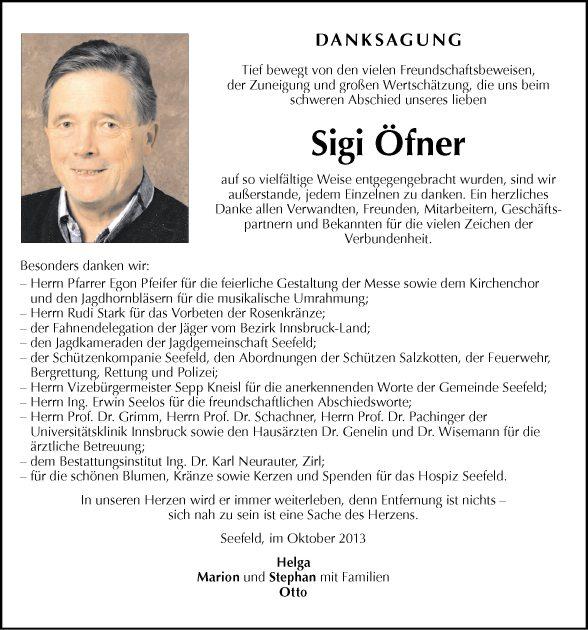 Öfner Sigi