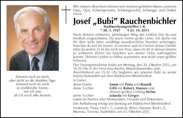 Josef Rauchenbichler