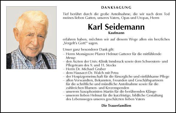 Karl Seidemann