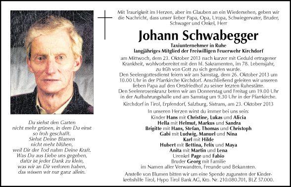 Johann Schwabegger