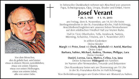 Josef Verant