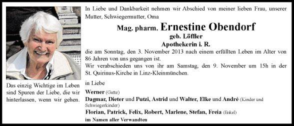 Ernestine Obendorf