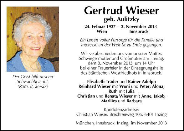 Gertrud Wieser