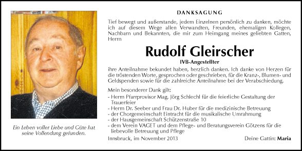 Rudolf Gleischer