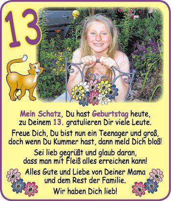 Geburtstagswünsche Teenager 13 Mädchen