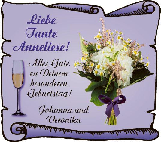 Liebe Tante Anneliese