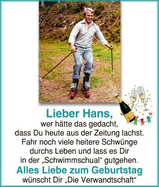 Lieber Hans