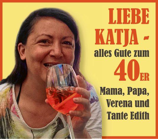 Liebe Katja