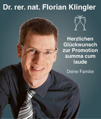 Dr. rer. nat. Florian Klingler