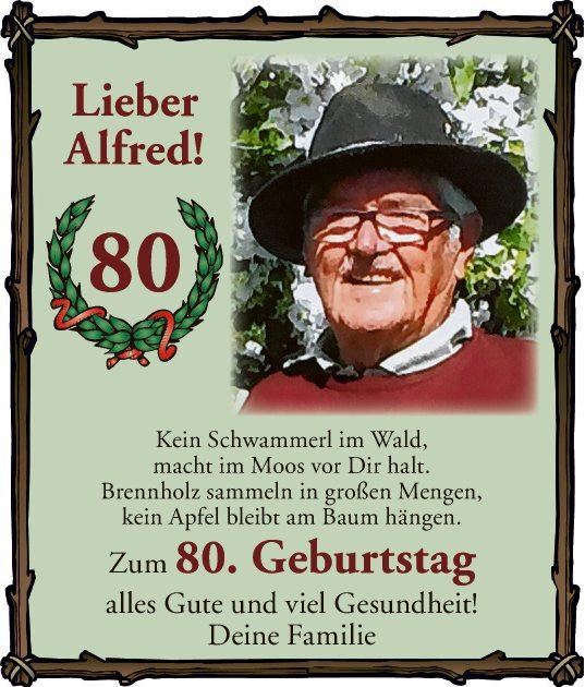 Lieber Alfred