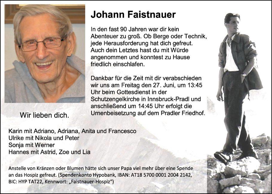Johann Faistnauer