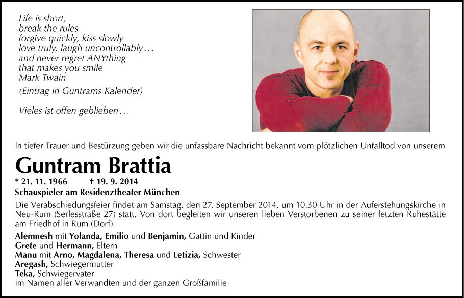 Guntram Brattia
