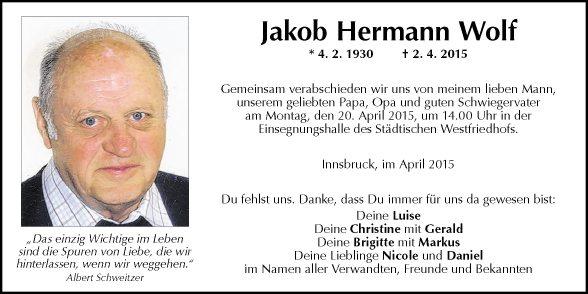Jakob Hermann Wolf