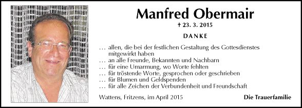 Manfred Obermair