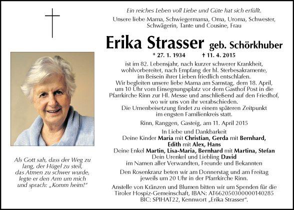 Erika Strasser