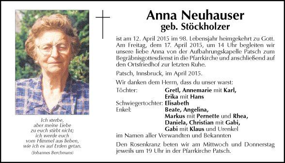 Anna Neuhauser