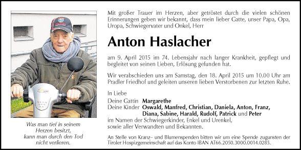 Anton Haslacher