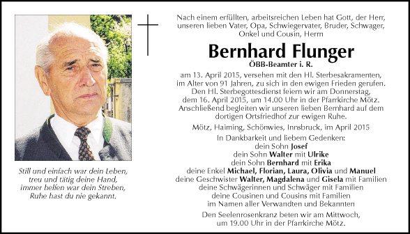 Bernhard Flunger