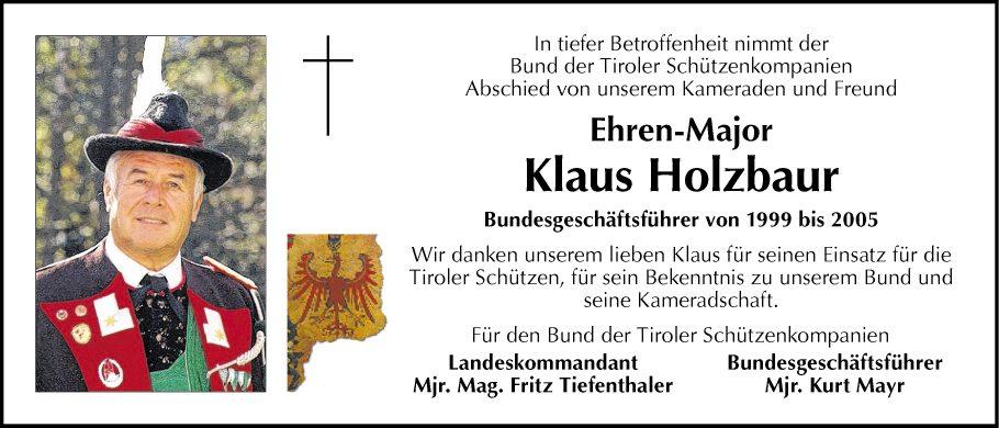 Klaus Holzbaur