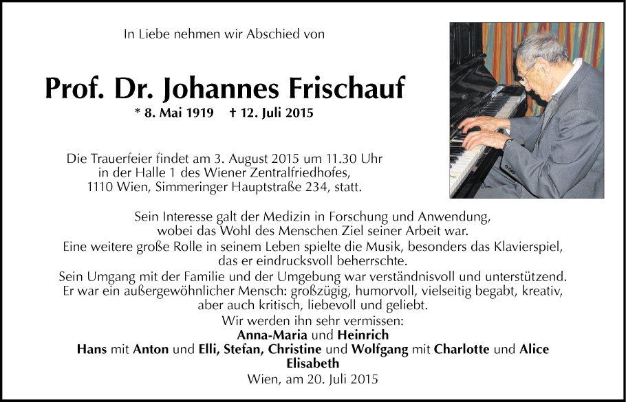 Johannes Frischauf
