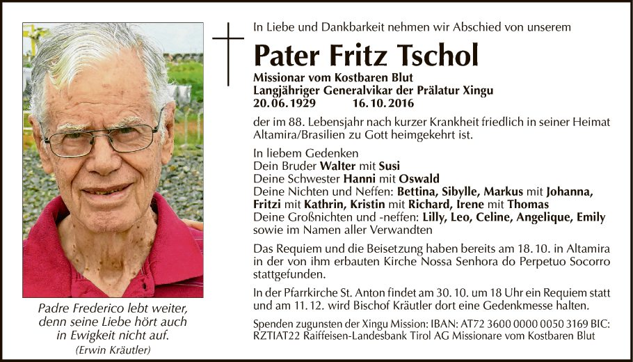 Pater Fritz Tschol