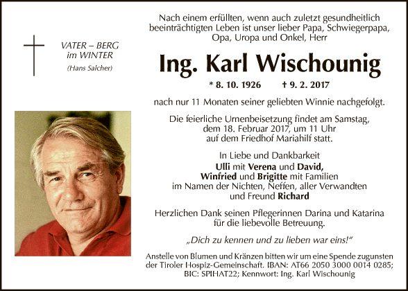 Karl Wischounig