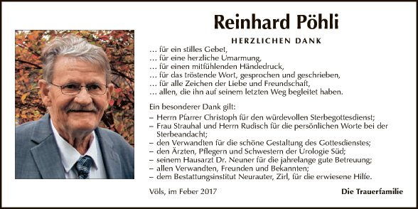 Reinhard Pöhli