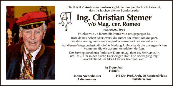 Ing. Stemer Christian