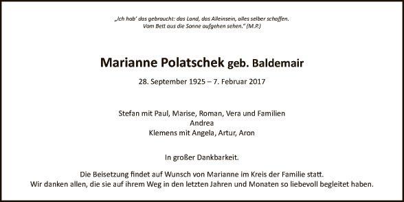 Marianne Polatschek