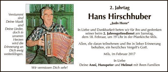 Hans Hirschhuber