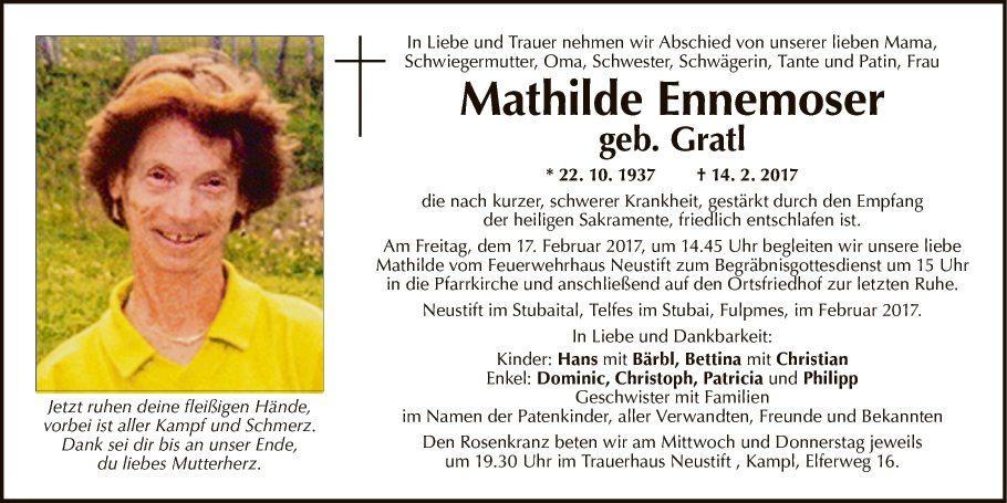 Mathilde Ennemoser