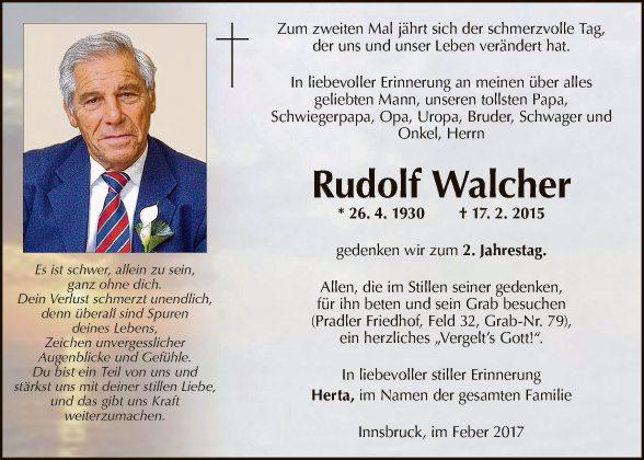Rudolf Walcher