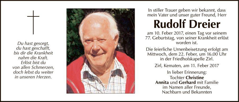 Rudolf Dreier