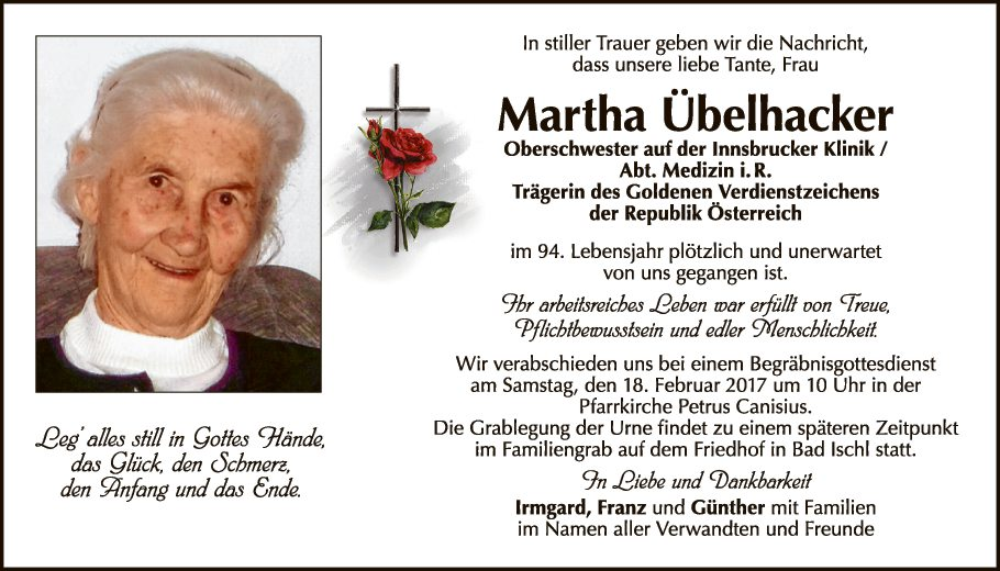 Martha Übelhacker