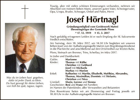 Josef Hörtnagl