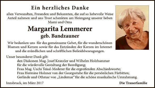 Margarita Lemmerer