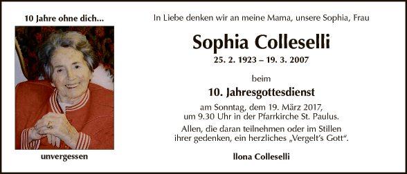 Sophia Colleselli