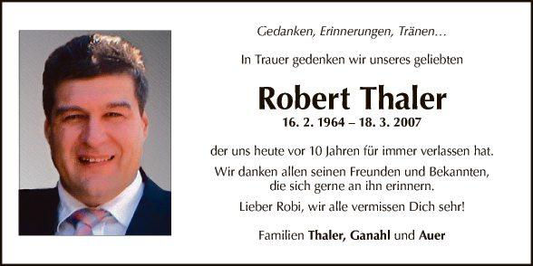 Robert Thaler